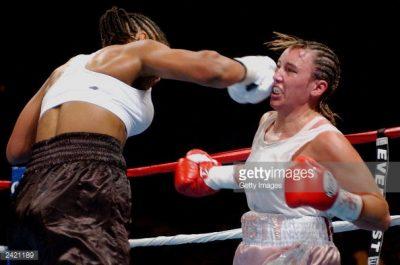 Christy Martin vs Belinda Laracuente