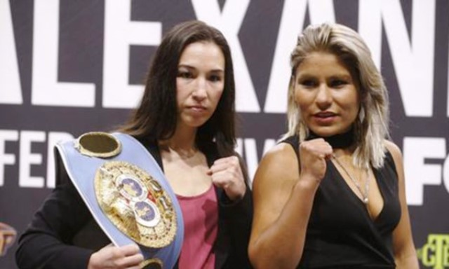 Jennifer Han vs. Lizbeth Crespo in El Paso