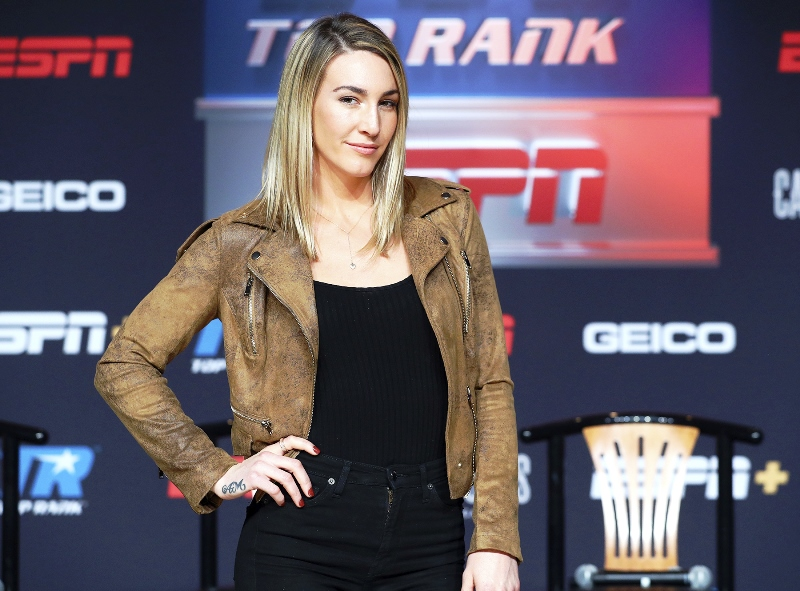 Mikaela Mayer Eager to Tame Super Featherweights Titlists