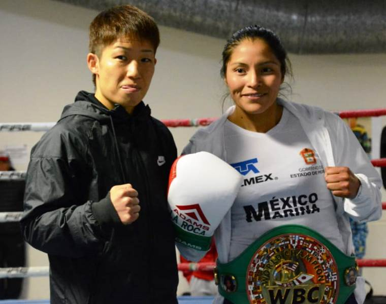 Chaoz Minowa vs Mexico's Ibeth Zamora