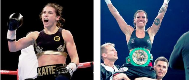 Katie Taylor vs Ewa Wahlstrom in NYC