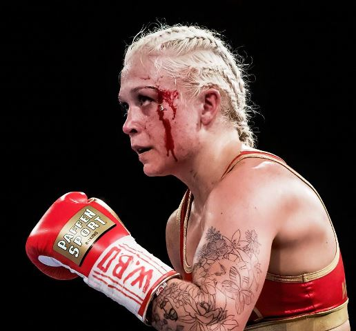 Dina Thorslund Wins Bloody Rumble