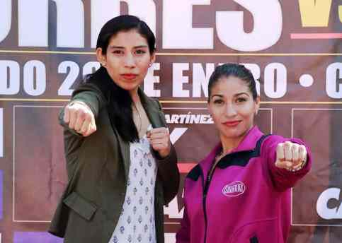 TV Main Event for Mexico's Victoria Torres and Jasseth Noriega