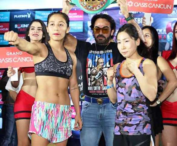 Mexico's Yesenia Gomez vs Japan's Erika Hanawa