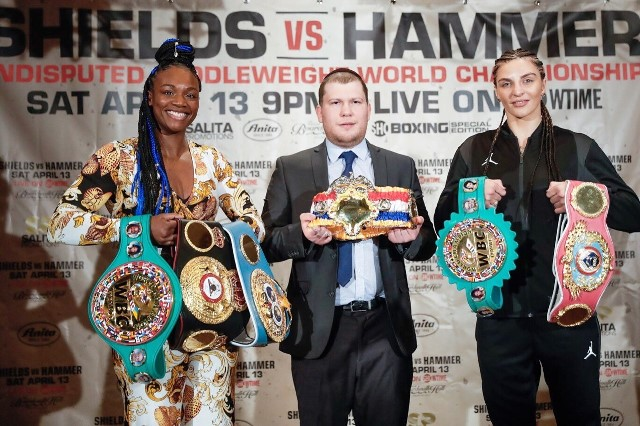 World is Watching Claressa Shields vs Christina Hammer