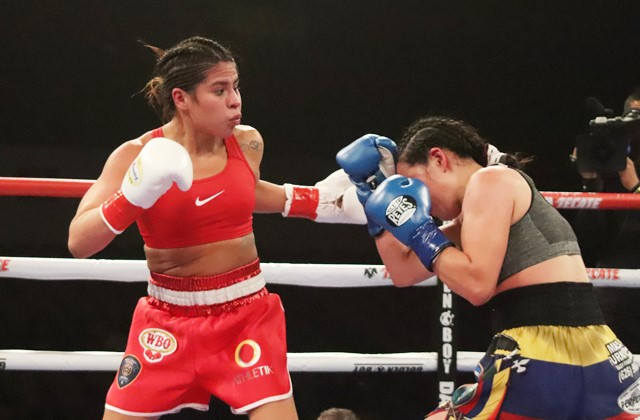 Marlen Esparza Returns With a Win