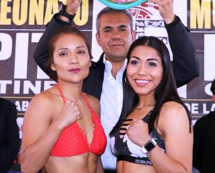 Guadalupe Martinez Beats Jessica Chavez in Mexico