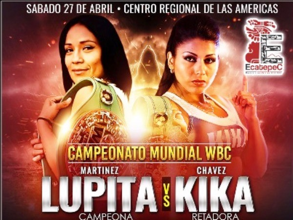 Lupita Martinez vs Kika Chavez in Mexico
