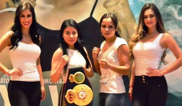 Montserrat Alarcon vs Nora Cardoza for WBA Title in Mexico