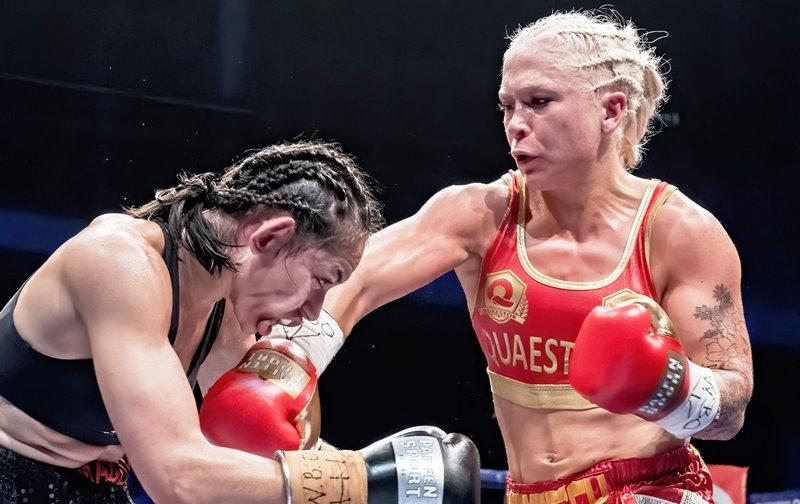 Dina Thorslund Retains WBO Super Bantamweight title in Denmark