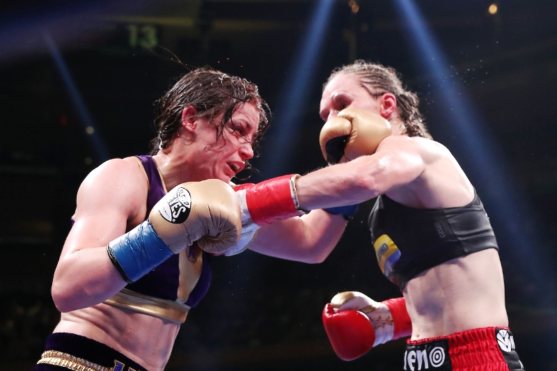 Katie Taylor and Delfine Persoon Battering Wows Fans