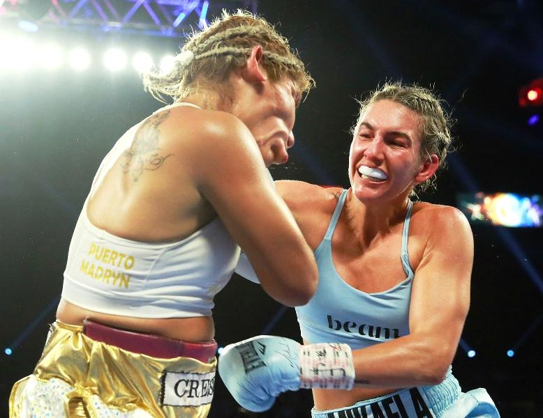 Mikaela Mayer Defeats Lizbeth Crespo in Las Vegas