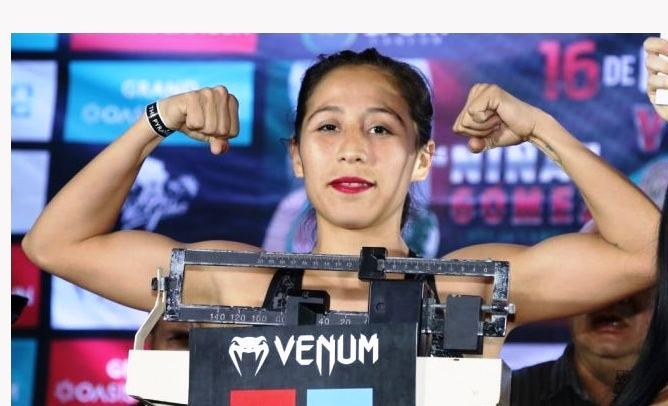 Yesenia Gomez Defends vs Ana Victoria Polo