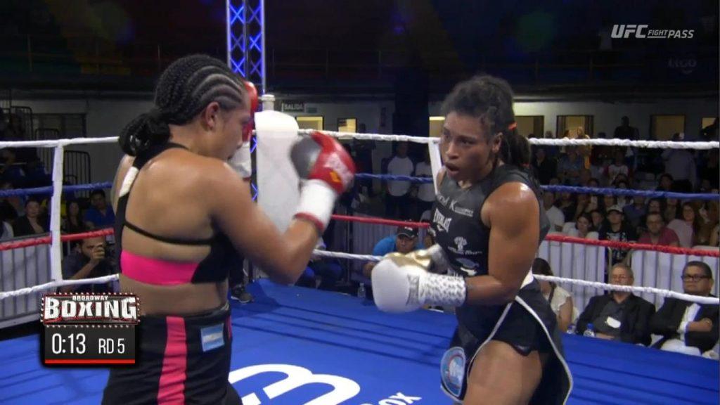 WBA Champion Hanna Gabriels Beats Abril Vidal in Costa Rica