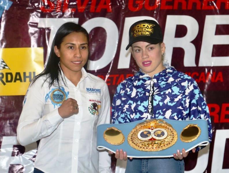 Mexico's Silvia Torres vs Argentina's Evelyn Bermudez
