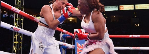 Franchon Crews-Dezurn Keeps WBC Title and Adds WBO in L.A.