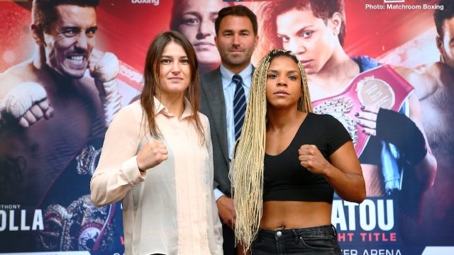 Katie Taylor, Seniesa Estrada, Marlen Esparza and More Female Fight News