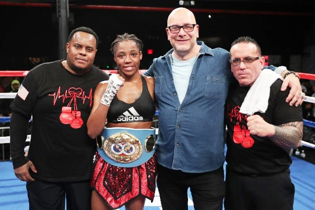 IBF Champ Mary McGee Captures History