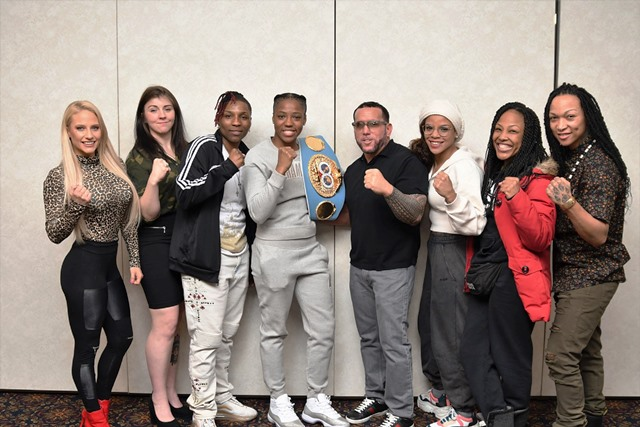 Brian Cohen and Female Prizefighting Champions