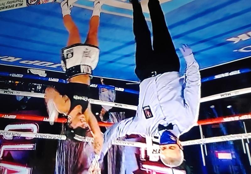 Kim Clavel Defeats Natalie Gonzalez in Las Vegas