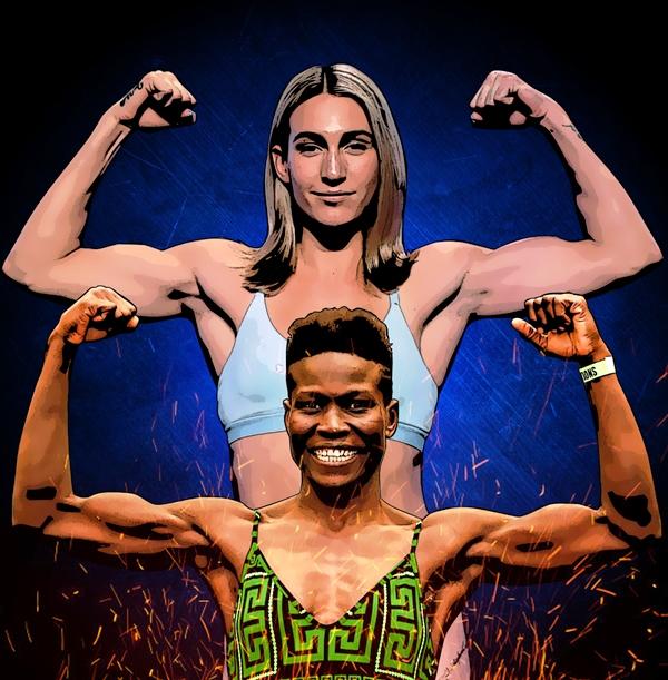 Mikaela Mayer vs. Helen Joseph in Las Vegas