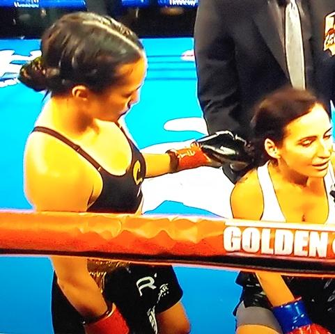 East L.A.'s Seniesa Estrada KOs Adkins in 7 Seconds