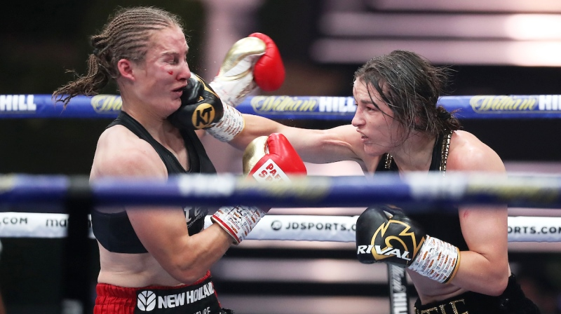 Katie Taylor, Estrada and McCaskill Lead Tidal Wave of Women's Prizefighting