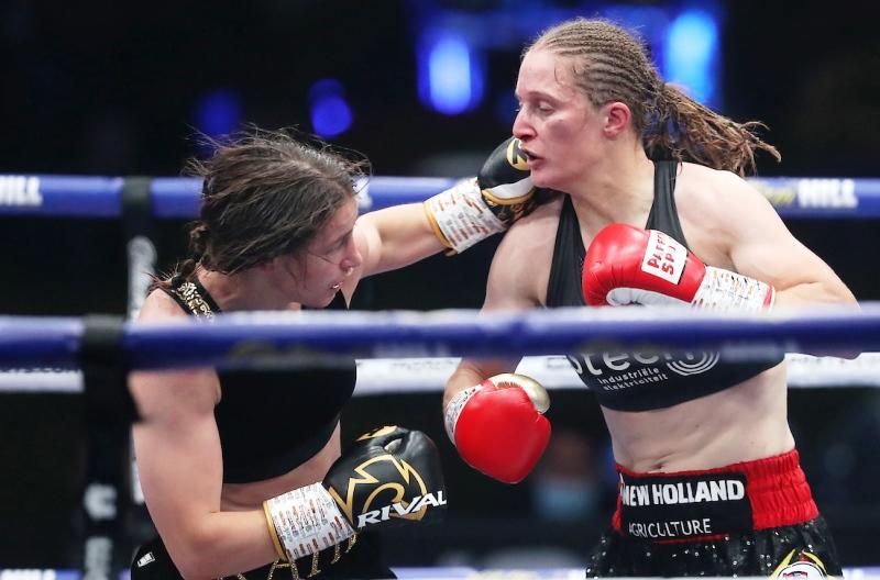 No Dispute, Katie Taylor Beats Delfine Persoon