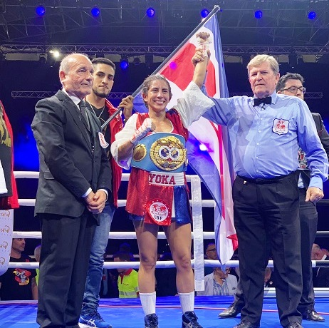 IBF World Champion Yokasta Valle
