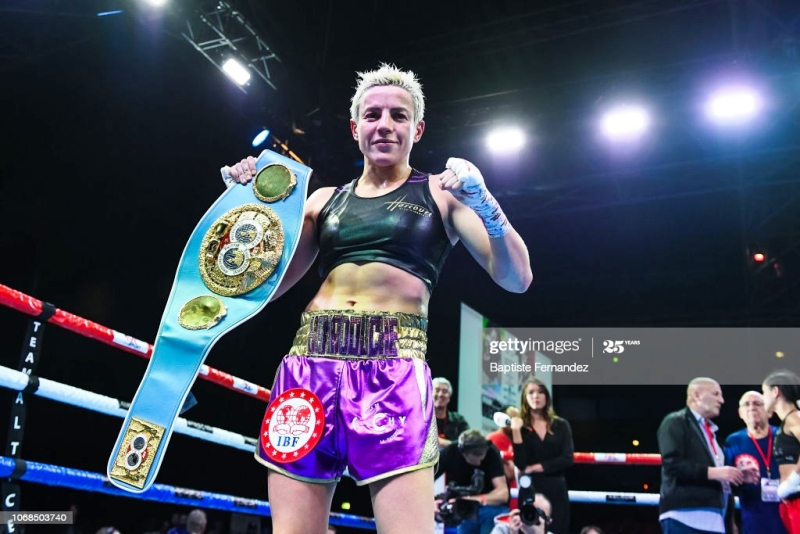 Maiva Hamadouche Signing Boosts Matchroom's Roster