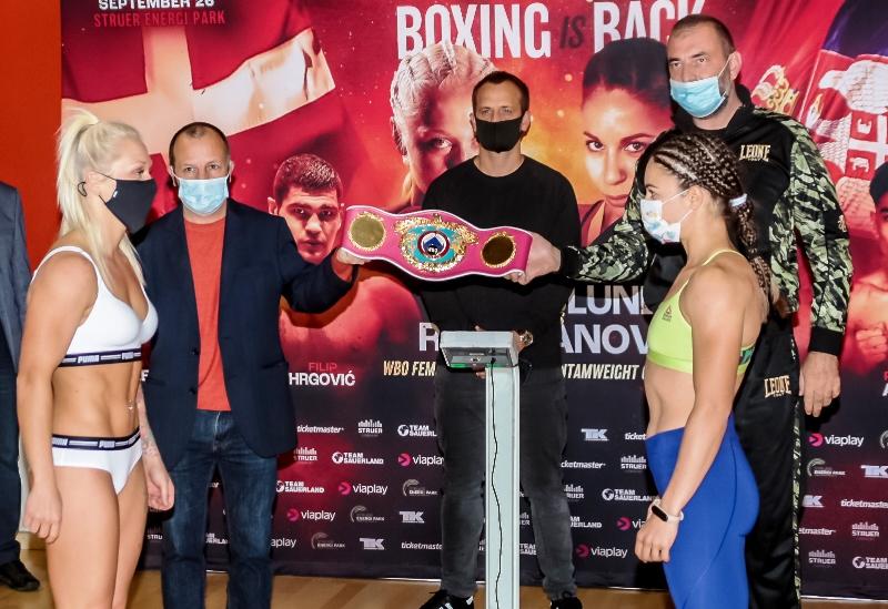 WBO Champ Dina Thorslund vs Nina Radovanovic