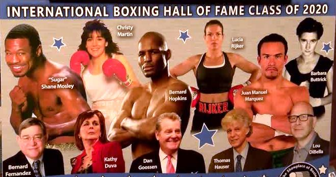 Women's Boxing Hall of Fame Nominees for 2021