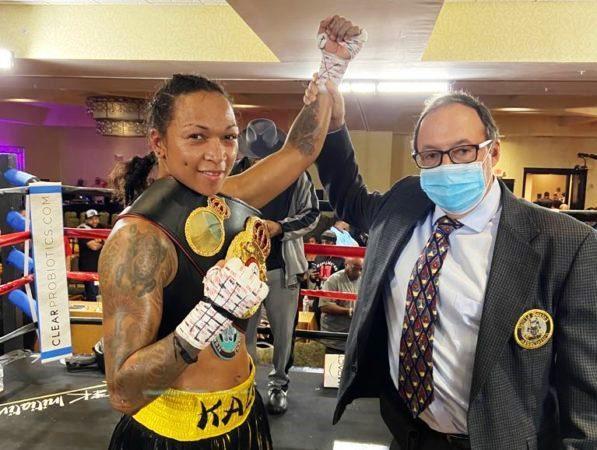 New WBA Titlist Kali Reis Wants Layla McCarter Next