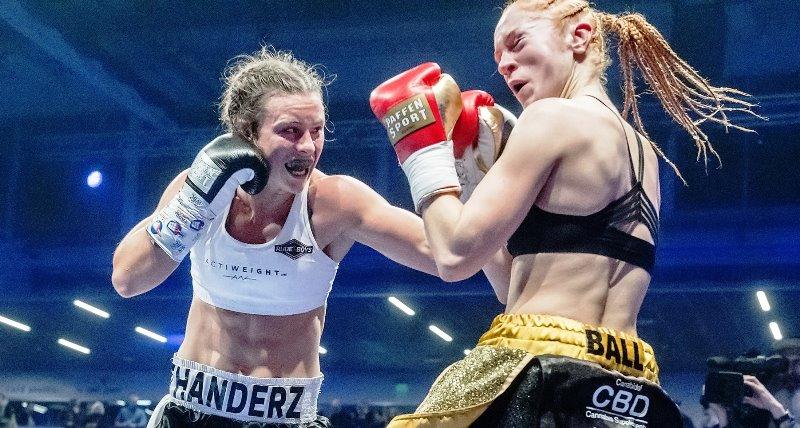Katharina Thanderz Ready for World Title Challenge