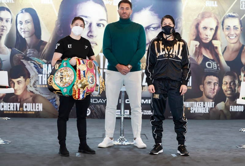 Katie Taylor vs Miriam Gutierrez and Two Other Title Fights