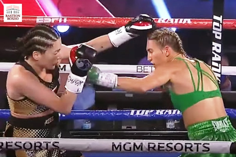 Mikaela Mayer and Savannah Marshall Win Titles and More