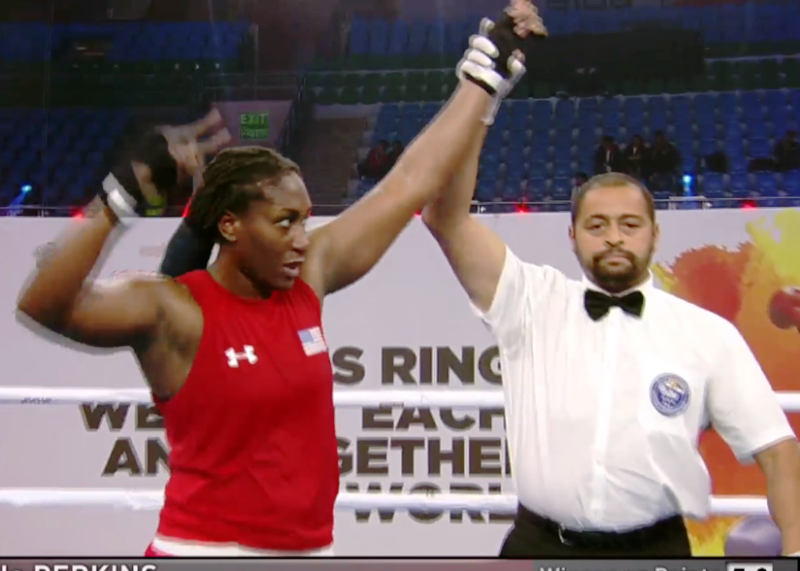 Danielle Perkins in Hunt for Heavyweight Thunder on Pay-Per-View Card