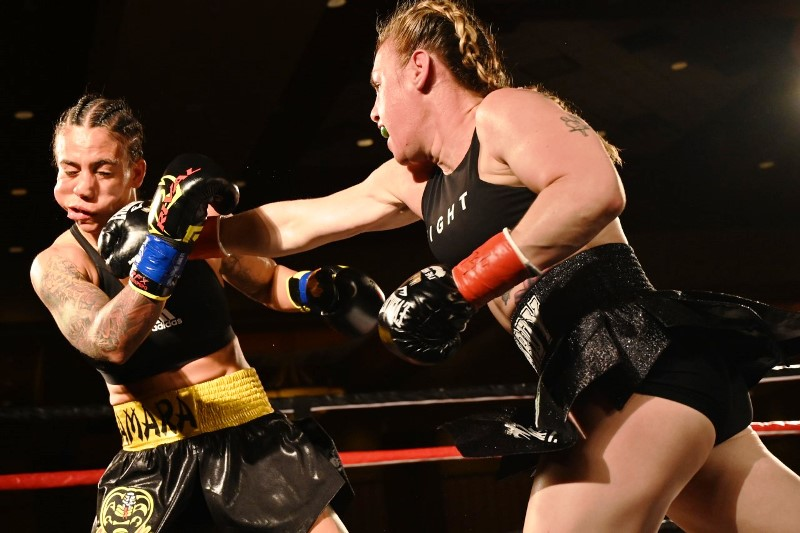DiBella Entertainment Women's Fight Card a Hit in Tennessee