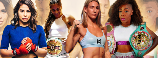 Marlen, Odessa, Mikaela and Franchon in World Title Fights on Saturday