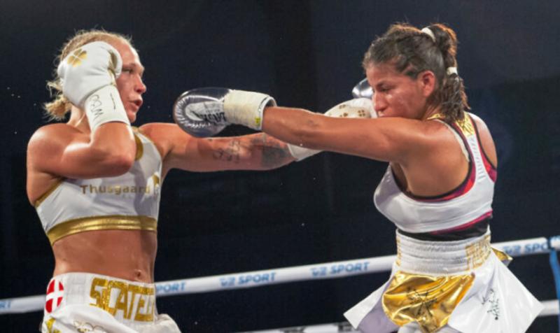 Denmark Reporting: Dina Thorslund Wins Bantamweight Title