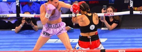 WBO Champ Mikaela Mayer Staves Off Erica Farias in Las Vegas