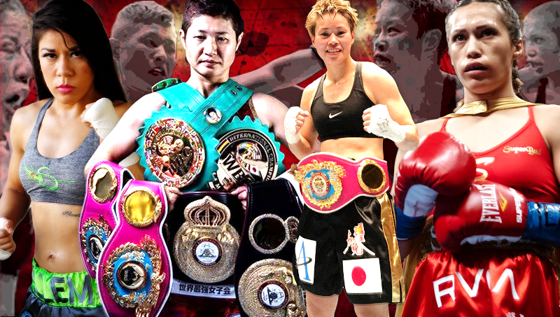 Two World Title Fights in L.A: Japan vs America