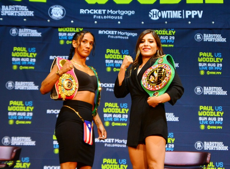 Amanda Serrano vs Yamileth Mercado on Sunday PPV